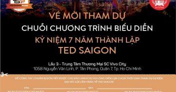 Ve moi tham du Chuoi chuong trinh bieu dien ky niem 7 nam thanh lap